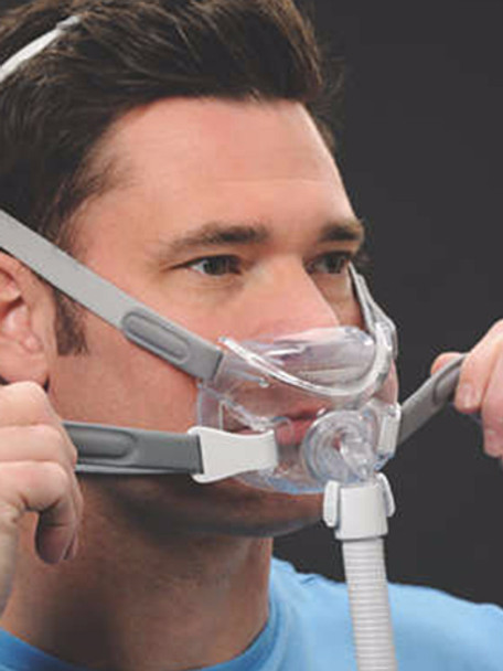 Respironics Amara View Full Face Cpap Mask With Headgear