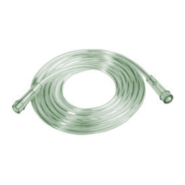 Kink Resistant Oxygen Tubing - 25' (7.6 m) Green