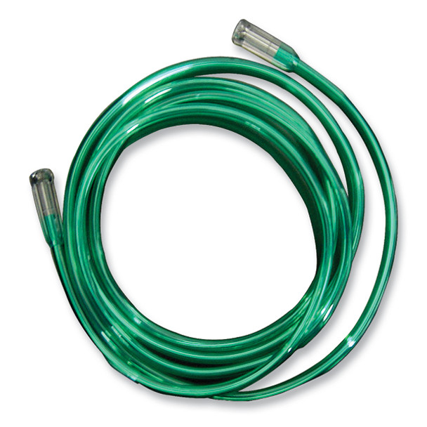 Salter Labs 50' Oxygen Tubing (Green) with 2 Connectors