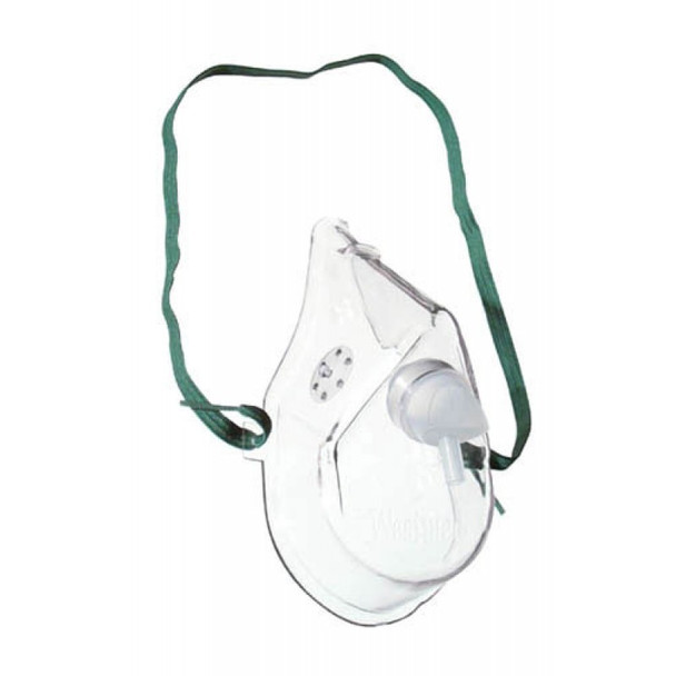 WestMed Medium Concentration Adult Oxygen Mask with 7' Tubing