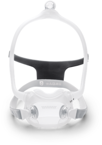 Respironics DreamWear Full face mask with Headgear FitPack - All Cushion Sizes Included