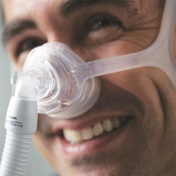 Philips Respironics Wisp Nasal Mask FitPack with Fabric Frame and Headgear