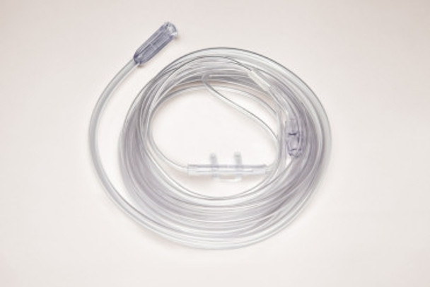 Salter Labs Adult Non-Flared Nasal Cannula, w/ 7ft Supply Tube