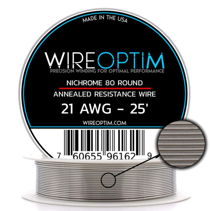 Nichrome Series 80 Resistance Wire (Odd Gauges)