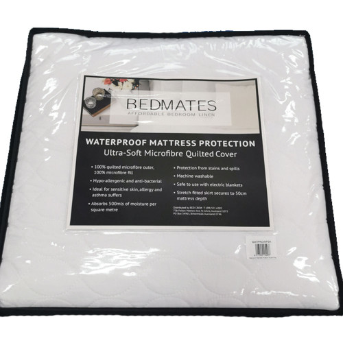 Quilted Waterproof Mattress Protector by Bedmates