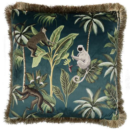 Velvet Monkey Cushion by Le Forge