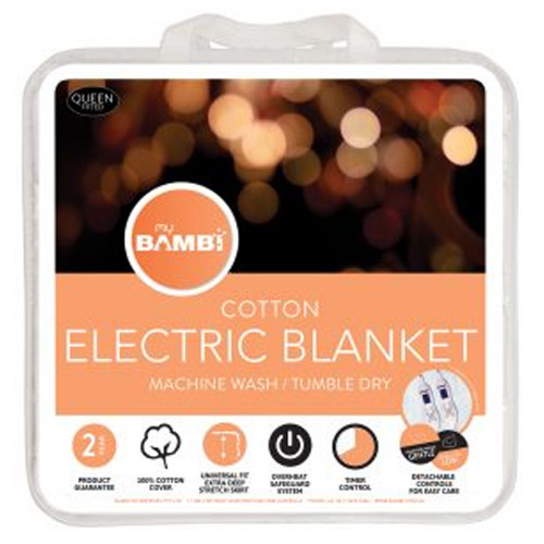 Moodmaker Cotton Electric Blanket by My Bambi