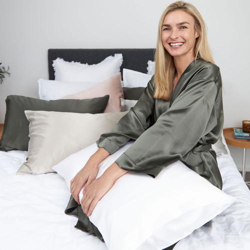 Silk Pillowcase by MM Linen