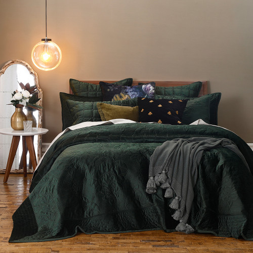 Florentina Sycamore Bedspread Set by MM Linen