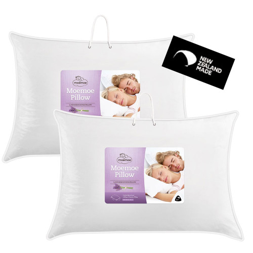Lavender Scented Polyester Standard Pillow by Moemoe