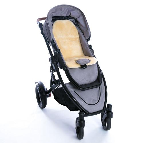 New Zealand Sheepskin Baby Stroller Liner by Fibre