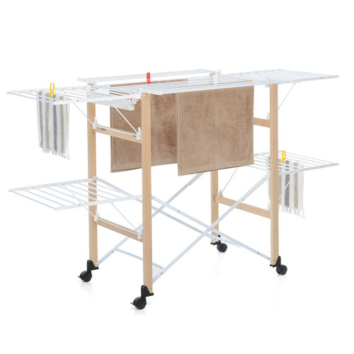 Gulliver Clothes Airer Natural by Foppapedretti