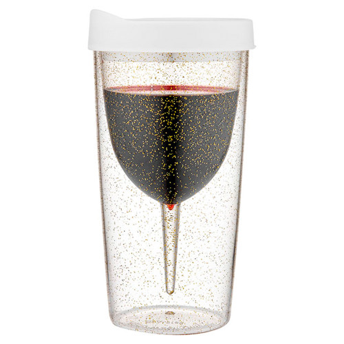Vino Glitter Wine Tumbler by Porta