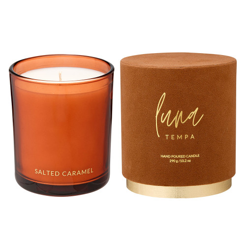 Luna Salted Caramel Candle by Tempa