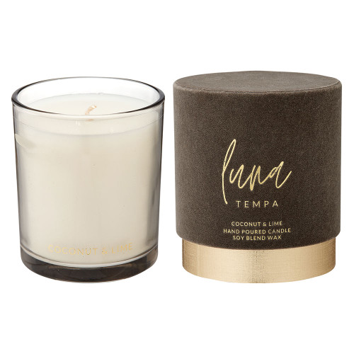 Luna Coconut and Lime Candle by Tempa