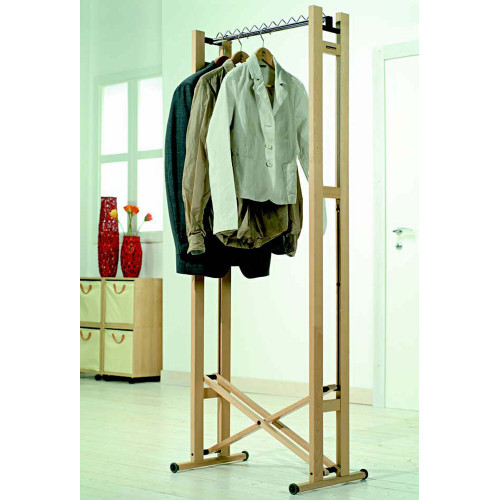 Snake 60 Clothes Rack Natural by Foppapedretti