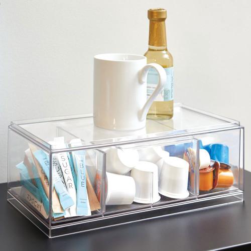 Crisp Tea Storage Organiser by Interdesign