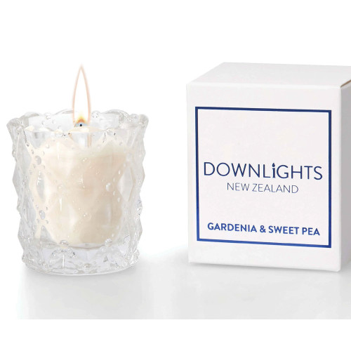 Gardenia and Sweet Pea Mini Candle by Downlights