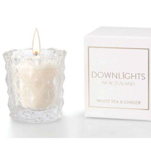 White Tea and Ginger Mini Candle by Downlights