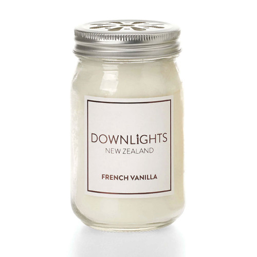 French Vanilla Preserving Jar Candle by Downlights