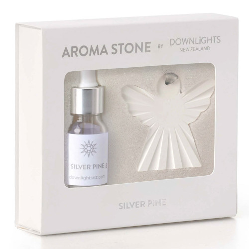Silver Pine Angel Aroma Stone by Downlights
