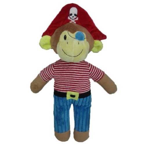 Pirate Monkey Soft Toy by Baby Bow