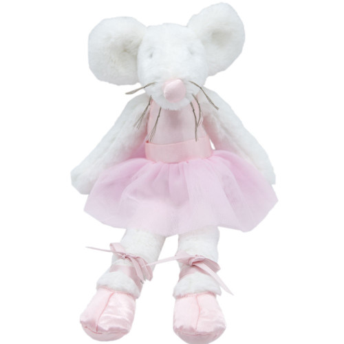 Marjorie Mouse Ballerina Soft Toy by Baby Bow