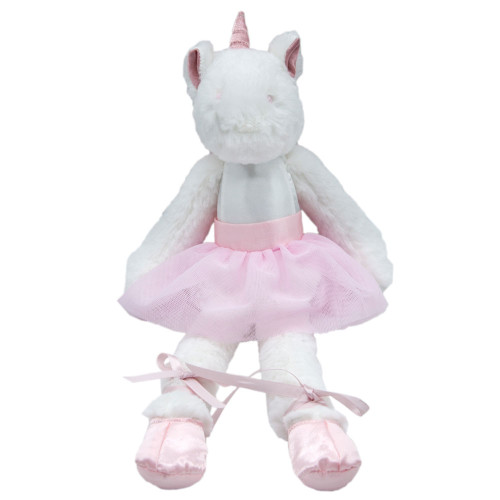 Galaxy The Unicorn Ballerina Soft Toy by Baby Bow