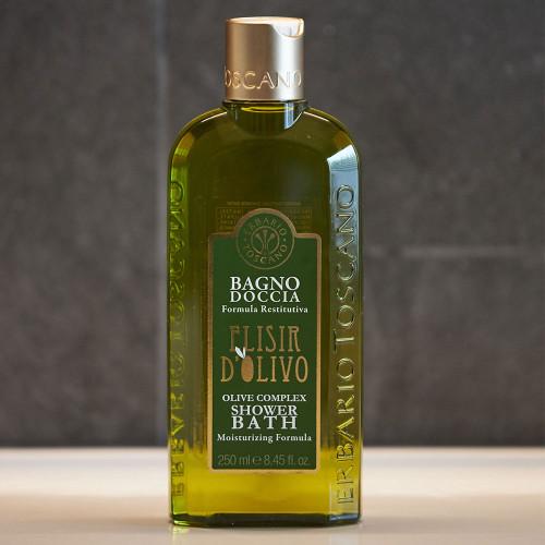 Olive Complex Shower and Bath Foam (250ml) by Erbario Toscano