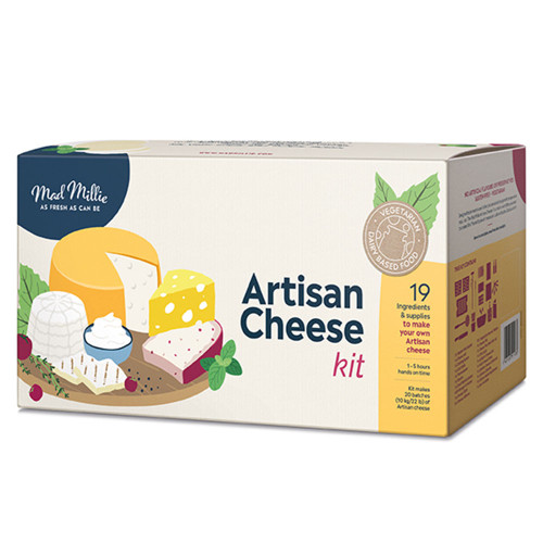 Artisan Cheese Kit by Mad Millie