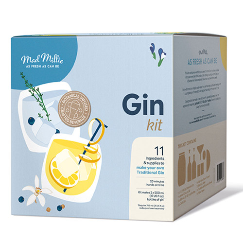 Handcrafted Gin Kit by Mad Millie