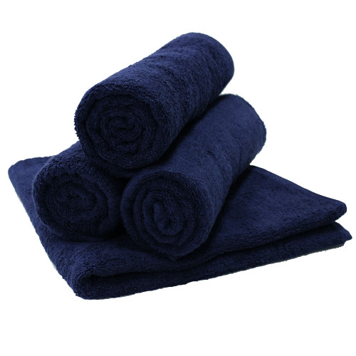 Commercial Navy Bath Towel
