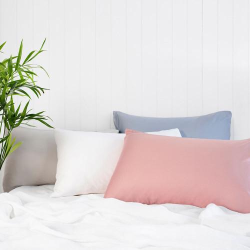 Bamboo Satin Pillowcase Pair by Bambury