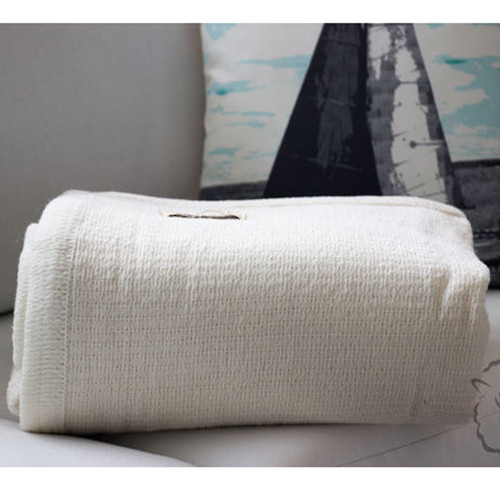 Thermacell Pure Merino Blanket with Woven Trim - NZ Made
