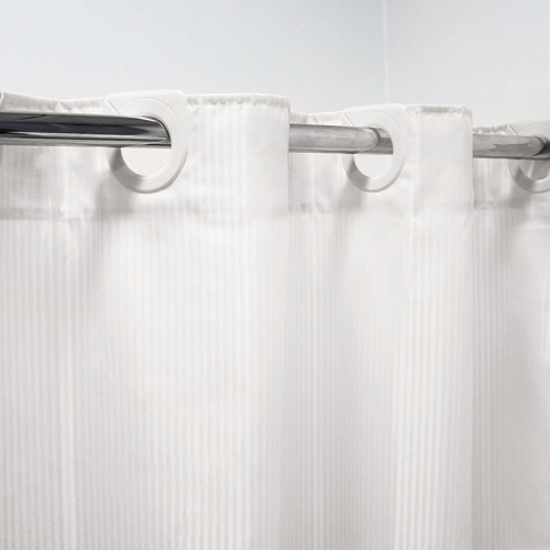 Hookless Shower/Bath Curtain 180 x 180cm by Bambury