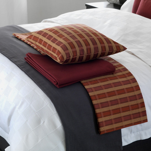 Clearance Delwin Shiraz Throw by Actil Commercial