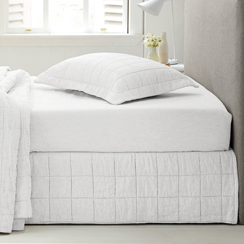 Abbotson Linen Quilted Bedskirt by Sheridan
