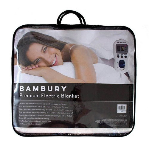 Premium Electric Blanket by Bambury