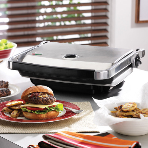 Cafe Contact Grill & Sandwich Press by Sunbeam GC7850B