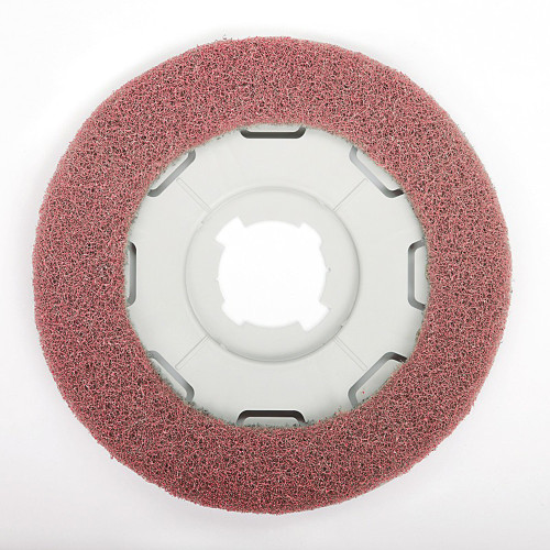 SEBO Dart 3 Red & Yellow Polisher Pad for Floors in Poor Condition