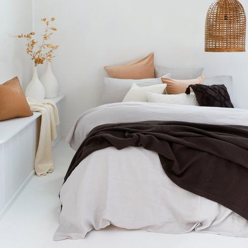 Cotton Waffle Blankets by Bambury