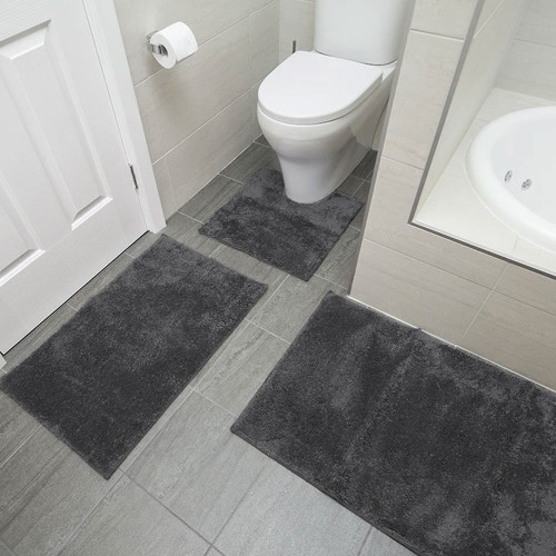 Microplush Bath Mat Range by Bambury