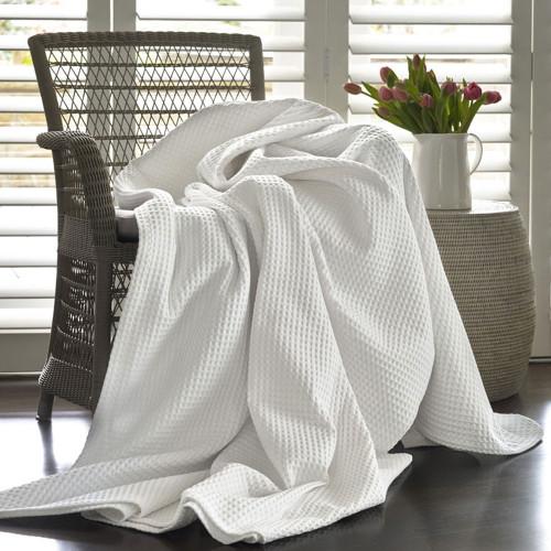 Artemis Waffle Blanket by Baksana