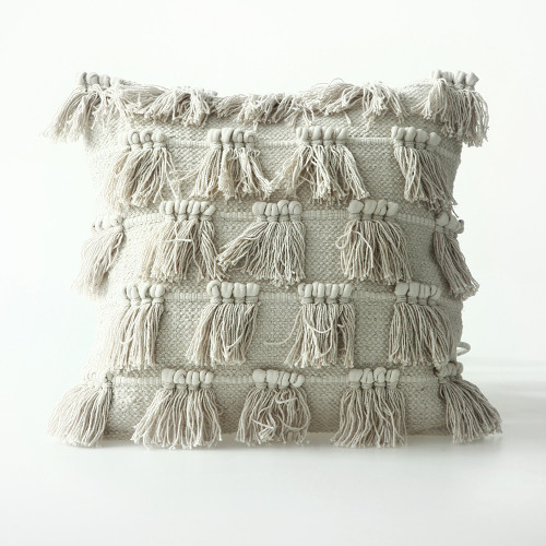 Fringe Cushion by MM Linen