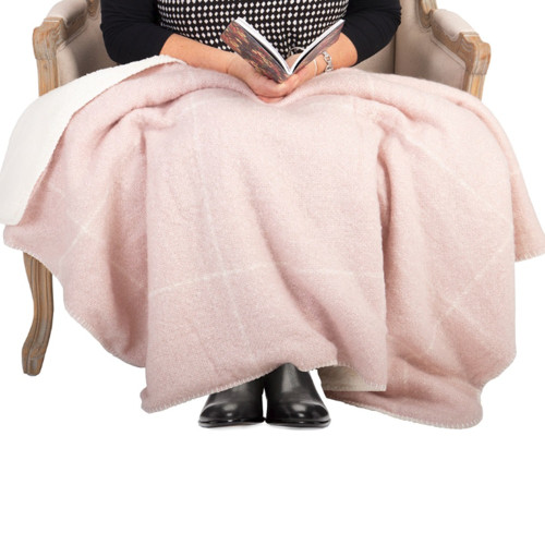 Sherpa Knee Rug by Linens and More
