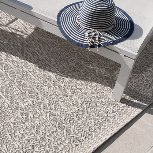 'Voyage' High Tide Floor Rugs by Mulberi