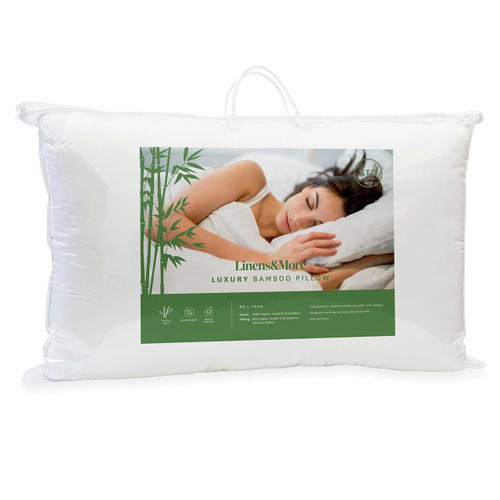Bamboo Pillow by Linens and More
