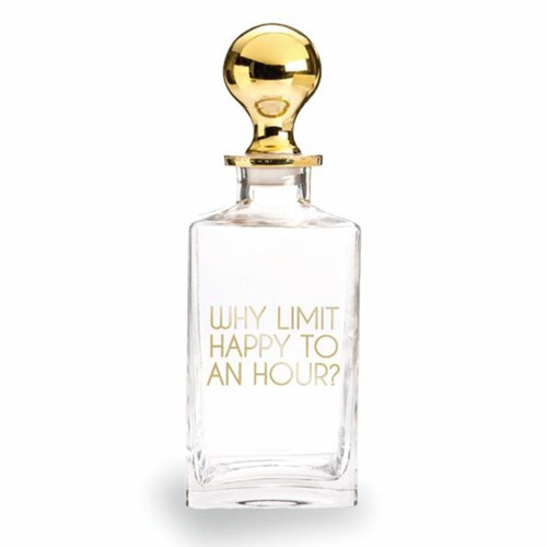 Rosanna Happy Hour Decanter by Old Mill Road