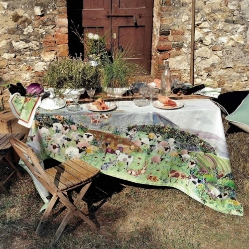 Heidi Table Cloth by Tessitura Toscana Telerie