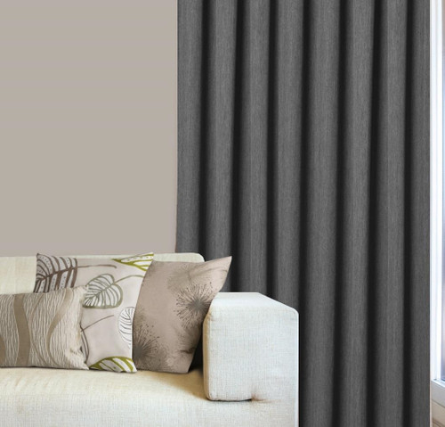Haven Pencil Pleat Curtains by Filigree